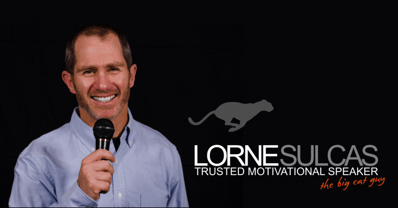 Lorne Sulcas - The Big Cat Guy - Motivational Speaker Videos