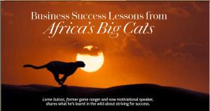 Lorne Sulcas - The Big Cat Guy - Lessons in Oprah Magazine